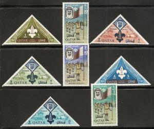 Qatar 53-60 1965 Boy Scouts set NH
