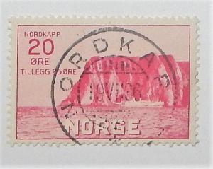 Norway B2. 1930 20o North Cape, used