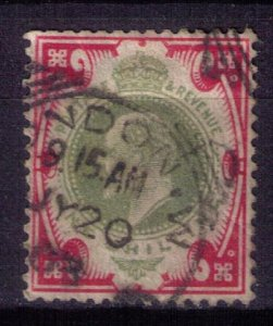 Great Britain Scott #138a Used London CancellationSurfaced Paper (Sg 259) F-VF