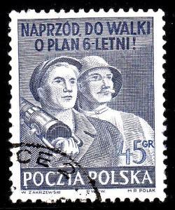 Poland 507A - used