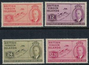 Virgin Islands #98-101*  CV $4.65