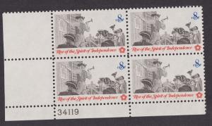 1477 Posting a Broadside MNH Plate Block LL