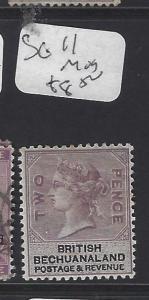 BECHUANALAND (P1910B) QV  2D   SG 11   MOG