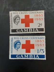 *Gambia #173-174*