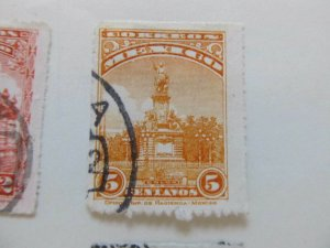 A8P45F60 Mexico 1923-34 5c with Wmk rouletted fine used stamp