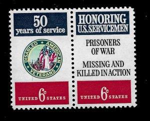 U.S. 1970 SC# 1421- Sc# 1422  6 c HONORING VETS  - Mint NH  ( 2 Stamps)