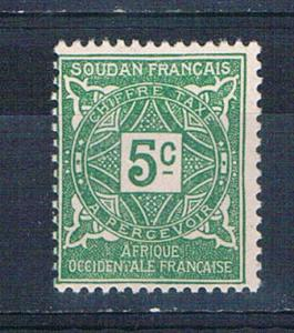 Sudan French J11 MLH Numeral 1931 (     ,    variety world stamps