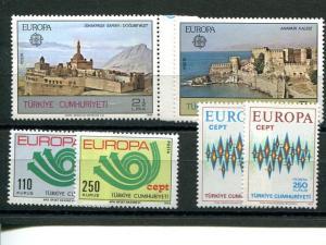 Turkey  Europa lot issue VF NH