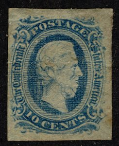 US #CONFEDERATE US #11 VF/XF mint full gum hinged, four nice margins,  great ...