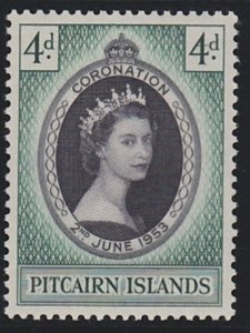 Pitcairn Islands 19 MNH (1953)