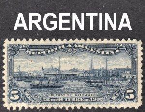 Argentina Scott 143 VF mint OG HHR.