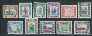 North Borneo 193//204 Various short set MLH NO 196