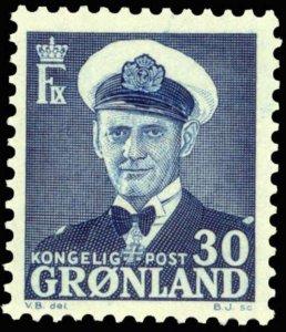 Greenland #33 MNH CV$40 Frederik IX [136067]
