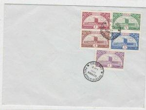 pakistan karachi fdc  stamps cover ref 12896