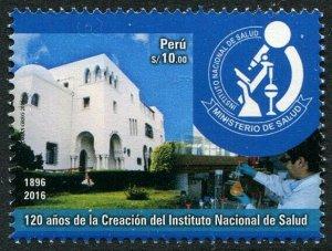 HERRICKSTAMP NEW ISSUES PERU Sc.# 1910 National Health Institute