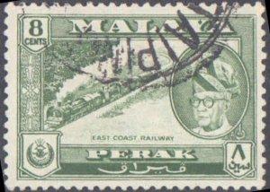 Malaya Perak #137, Incomplete Set, 1957-1961, Used