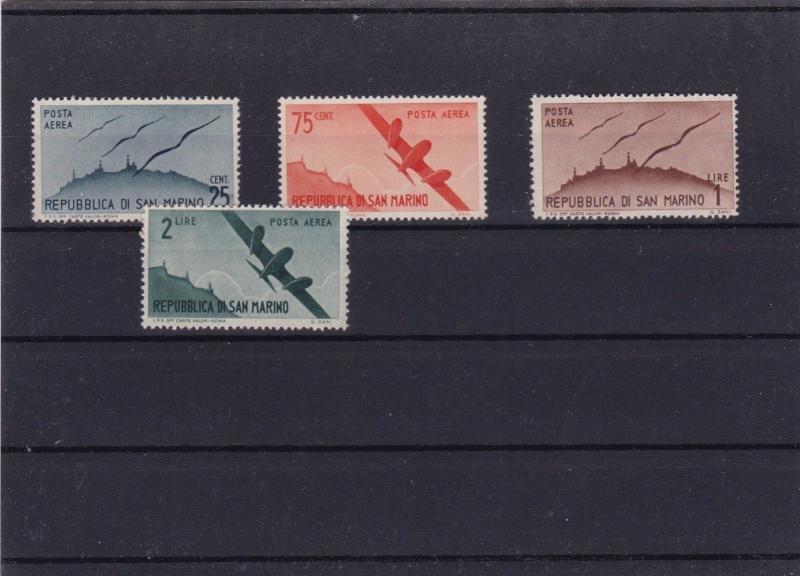 SAN MARINO  MOUNTED MINT OR USED STAMPS ON  STOCK CARD  REF R944