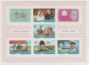 COOK ISLANDS Royal Visit of Prince Phillip 1971