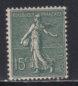 France # 139, The Sower, NH, Third Cat