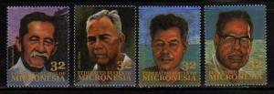 Micronesia MNH sc# 204-7 Leaders 08CV $2.60
