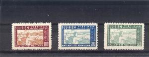 North Viet Nam 51-53,Nam Dinh Textile Mill Singles,**MNH**