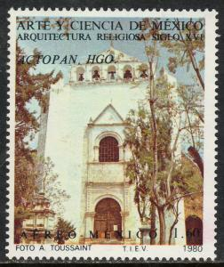 MEXICO C628,  Art and Science (Series 8) MINT, NH. F-VF.