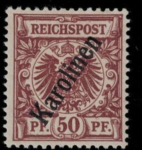 Caroline Is 1899 SC 6 Mint SVC$ 55.00