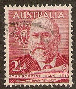 Australia Scott # 227 used. Free Shipping for All Additional Items