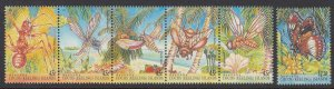 Cocos Islands 302-3 Insects mnh