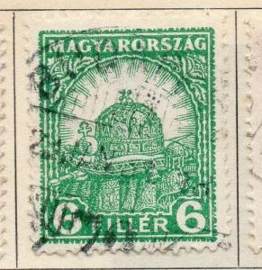 Hungary 1928-31 Early Issue Fine Used 6f. 108799