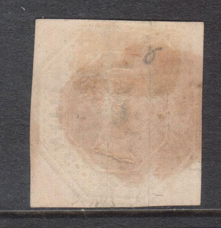 Great Britain #5 Used With Hinging On Back