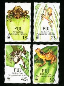 Fiji Stamps # 591-4 XF OG NH WWF