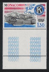 Monaco Kiwanis International European Convention Coin Label SG#1447