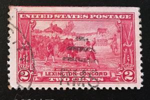 618 Birth of Liberty, Circulated single, Vic's Stamp Stash