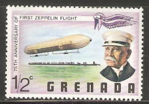 Grenada 75th Anniversary of first Zeppelin flight