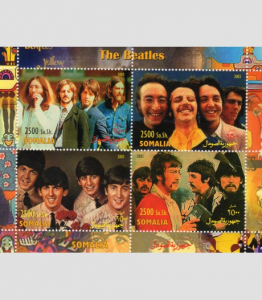 Somalia 2003 THE BEATLES Yellow Submarine Sheet Perforated Mint (NH)