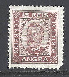 Angra Sc # 3 mint hinged (RS)