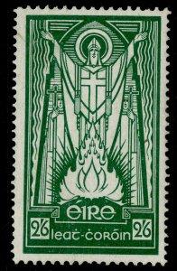 IRELAND GVI SG123b, 2s 6d emerald-green, M MINT.