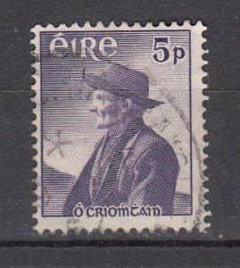 J26215  jlstamps 1957 ireland hv of set used #160 o,crohan