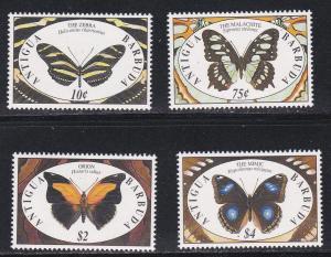 Antigua # 1401, 1404, 1406-1407, Butterflies, Part 1, NH, 1/2 Cat.