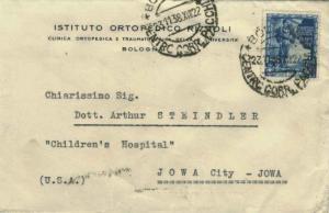 Italy 1.25L Proclamation of the Empire 1938 Bologna, Centro Corr. Pacchi to I...