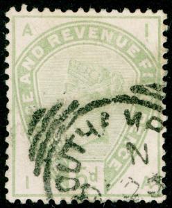 SG193, 5d dull green, USED, CDS. Cat £200. IA