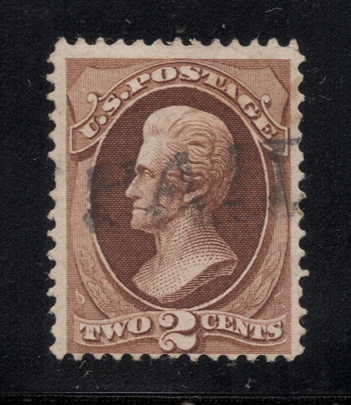 US#146 Red Brown - PAID Cancel - Cat:$21.50
