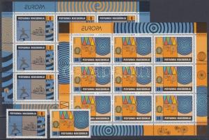 Makedonien stamp Europa CEPT Circus set + mini-sheet pair 2002 MNH WS112865