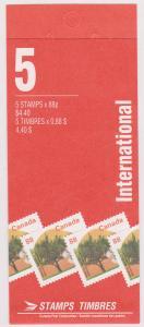 Canada - #BK168Ab - 1994 Westcot Apricot Booklet VF-NH