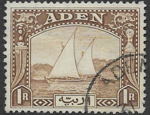 Aden  9   1937   1 R   FVF Used