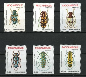 Mozambique  (1978)  - Scott # 579 - 584,    MNH
