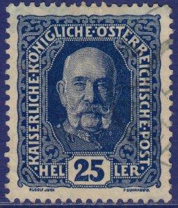 Austria - 1916 - Scott #152 - used - Emperor Franz Josef