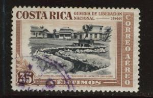 Costa Rica Scott C192 used 1950 airmail