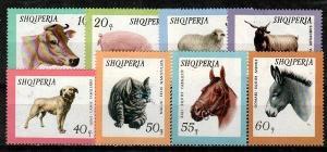 Albania Scott 902-9 Mint NH (Catalog Value $17.15)